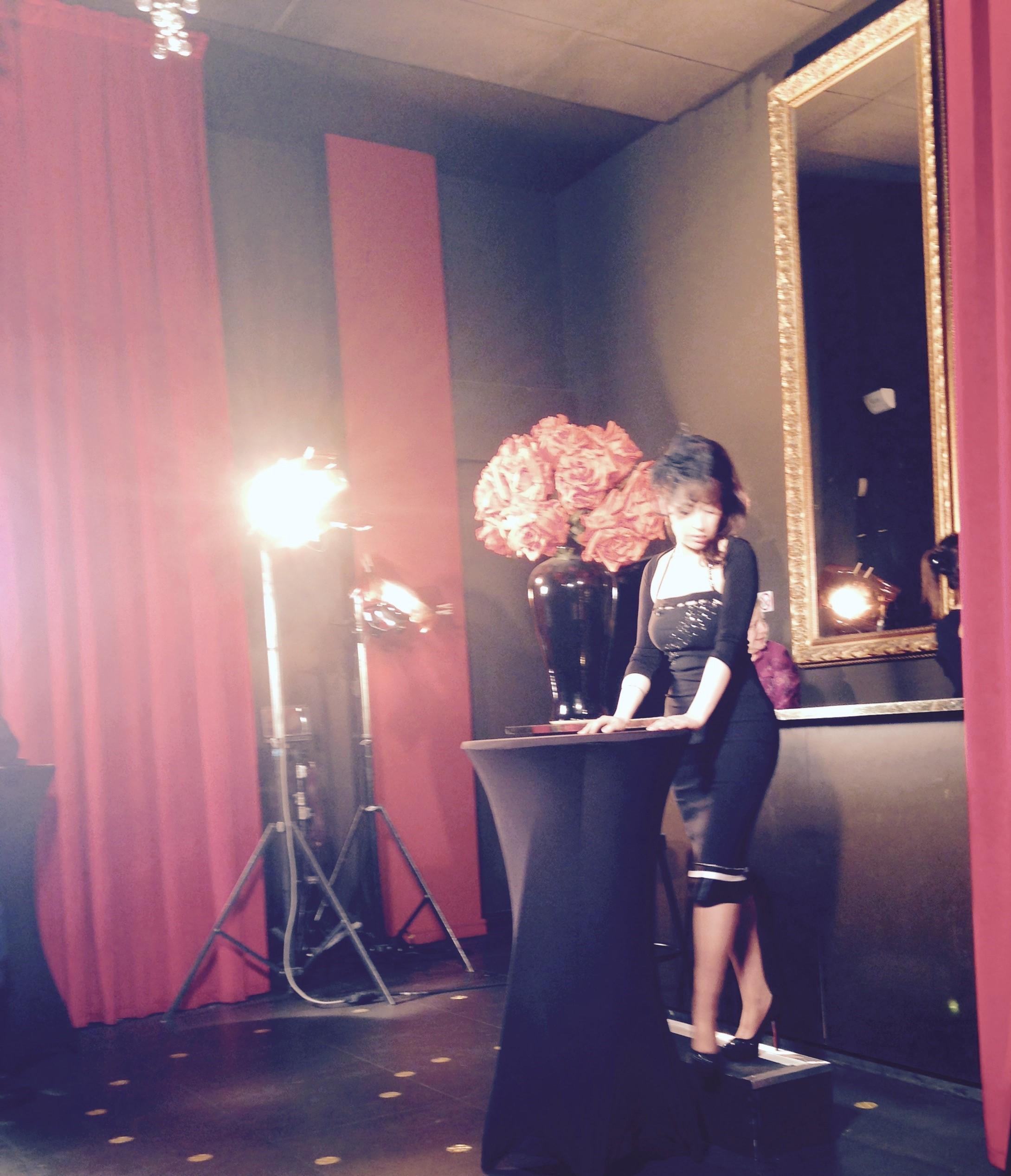 Jinie tournage championnat du France